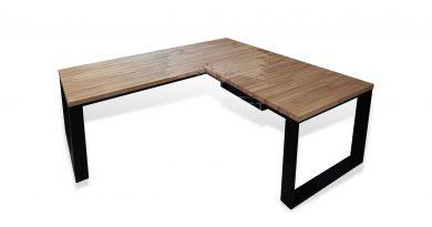 biurka narożne industrialne
